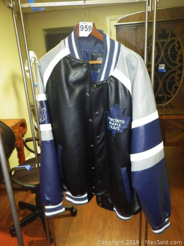 Nhl Maple Leafs Jacket B Auction Maxsold